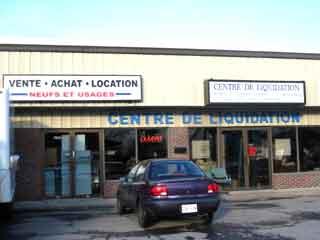 Centre de liquidation 5653 enr for Liquidation meuble laval
